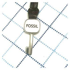 "Fossil Bag Fob Tag 7""long"